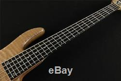 Fodera Monarch Deluxe V Custom Order 2014 Signed Bass