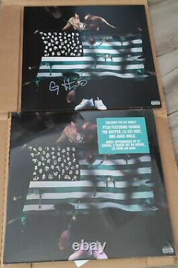 G Herbo PTSD Deluxe Vinyl SIGNED (NEW) Juice Wrld, Lil Uzi Vert, 21 Savage
