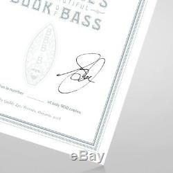 Geddy Lee Big Beautiful Book Bass Signed Autographed Rare Limited Ed Deluxe Set