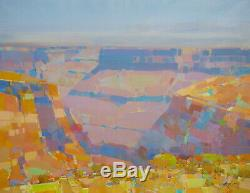 Grand Canyon, Original Oil painting Large Handmade artwork One of a kind