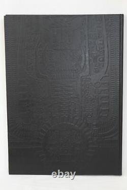 HR Giger Alien Necronomicon I + II, 1984 first limited de Luxe edition signed