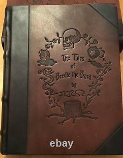 Harry Potter The Tales of Beedle the Bard UK 1st / 1st Deluxe Edition SIGNED