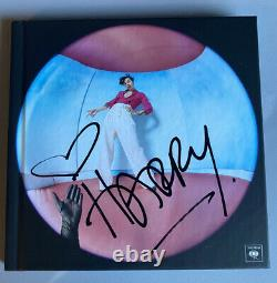 Harry Styles Signed Autographed Deluxe Cd Book FINE LINE Promo LAST ONE