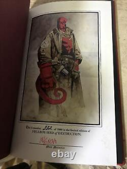 Hellboy Seed Of Destruction Deluxe Edition Signed Mike Mignola Numbered 332/1000