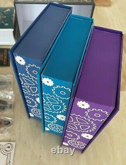 Illumicrate The Infernal Devices Cassandra Clare Complete Deluxe Box Signed
