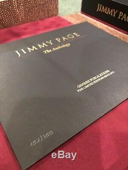 Jimmy Page Anthology 2020 SIGNED #152 OF 350 DELUXE COPIES ONLY