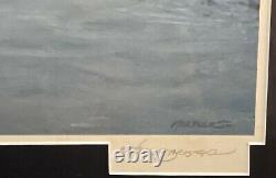 John M. Barber August Afternoon S/N Rare 690/950 Delux Framing Make Offer