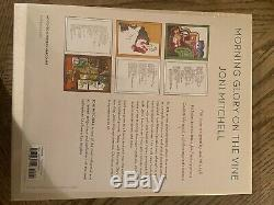 Joni Mitchell Morning Glory on the Vine Deluxe Signed Autographed Book SOLD OUT