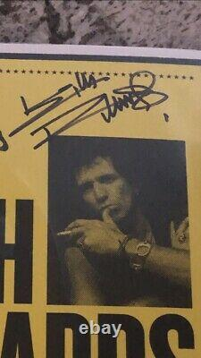Keith Richards Live At The Hollywood Palladium Super Deluxe Box Set SIGNED
