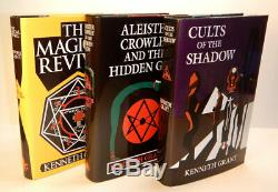 Kenneth GRANT / COMPLETE TYPHONIAN TRILOGIES Deluxe Editions Signed Limited ed