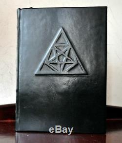 Kingdoms of Flame E A Koetting DELUXE Leather Grimoire Signed IXAXAAR #6/18 RARE