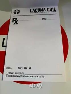 Lacuna Coil Darkest Adrenaline Super Deluxe Box Set Limited Edition SIGNED