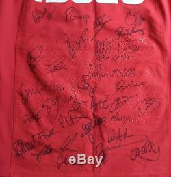 Look! Wales Grand Slam 2019 Squad Signed Rugby Shirt/jersey/maillot/historic