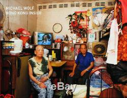 MICHAEL WOLF Hong Kong Inside/Outside DELUXE Edition Book with 2 SIGNED Photos