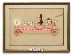 Mark Ryden The Grand Motor Car Limited Edition Serigraph Hand Signed