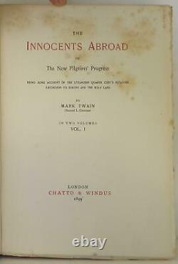 Mark Twain's Works-Author's Edition De Luxe / Limited Signed Edition #1510028