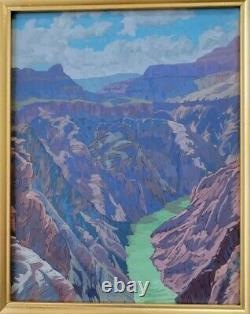 Matthew Reynolds Listed California Grand Canyon Western Landscape Oil Painting