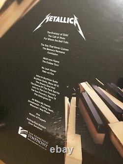 Metallica S&M2 Super Deluxe LP Vinyl Box Set Ltd. To 500 Signed By Band Sealed
