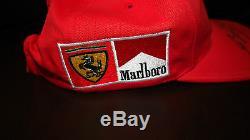 Michael Schumacher Hand Signed Marlboro / Ferrari 2006 Grand Prix Cap