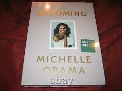 Michelle Obama Becoming Deluxe Signed Edition Sealed