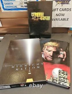 Midnight Nation Deluxe Slipcase HC + Rising Stars Signed HC (Factory Sealed)