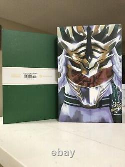 Mighty Morphin Power Rangers DLX Hc Year One Slipcase Ed. Signed Boom! Studios