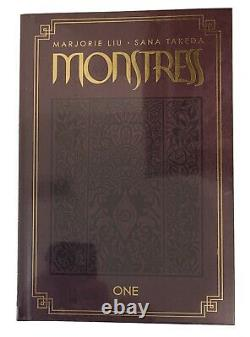 Monstress Limited Edition Signed Takeda and Liu Vol 1 Deluxe Hardcover Only 500