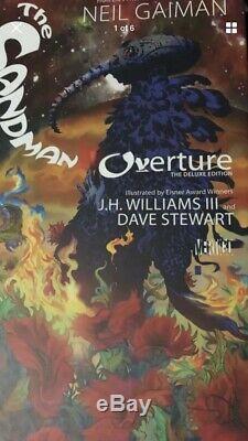 Neil Gaiman SANDMAN OVERTURE signed LE Deluxe Edition /300 Autograph Dream