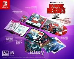 No More Heroes III Deluxe Edition Signed (PREORDER) Pixn Love Nintendo Switch
