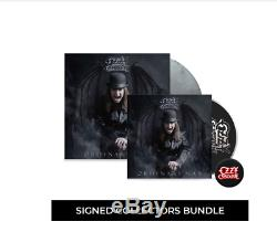 Ordinary Man Signed by Ozzy Osbourne CD + Deluxe Vinyl Collector's Bundle