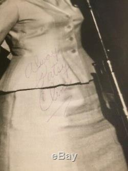 Original Patsy Cline Grand Opry Nashville Photo Signed Always Patsy Cline