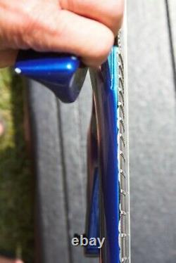 Parker Fly Deluxe Hardtail 1994 Majik Blue signed by Ken Parker