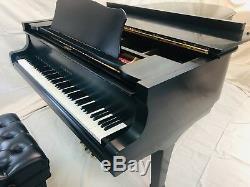 Piano Signed by Frank Sinatra & Tony Bennett, Yamaha C7 Grand, Rare Collector Item