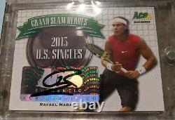 RAFAEL NADAL 2013 ACE Grand Slam Heroes GSH-RN1 Autograph Auto SP