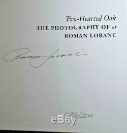ROMAN LORANC 2003 TWO-HEARTED OAK DELUXE EDITION BOOK with 11X14 Print Mint