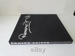 ROMERO BRITTO PARTY GIRL 224/250 with Romero Britto Deluxe Book RARE