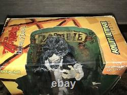 Rob Zombie Rare Signed 18 Art Asylum Action Figure Hellbilly Deluxe White + BAS