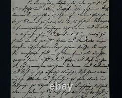 Russian Royalty Grand Duchess Maria Pavlovna Signed Manuscript Document Letter
