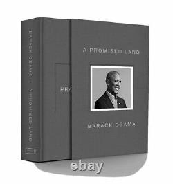 SHIPS TODAYBarack Obama SIGNED A PROMISED LAND Deluxe Book AUTOGRAPHED NEW