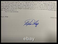 SIGNATURES by STEPHEN KING & RAY BRADBURY +41 Lord John Deluxe Hardback 1/150