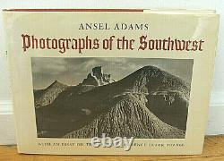 SIGNED Ansel Adams Photographs of the Southwest FIRST Print Grand Canyon Zion