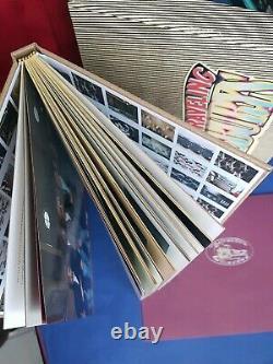 SIGNED DELUXE Traveling Wilburys George Harrison Jeff Lynne Dylan Genesis book
