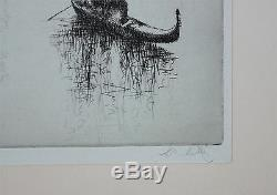 SYDNEY LITTEN-British Realist-Hand Signed LIM. ED. Etching-Grand Canal-Venice