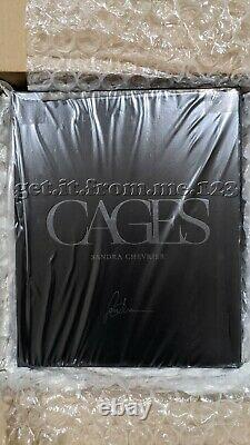 Sandra Chevrier Cages Monograph Deluxe Clamshell Book with Print! Sealed