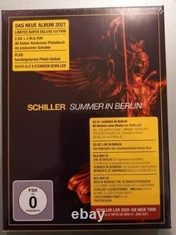Schiller Summer In Berlin Super Deluxe 2cd+2bluray New Sealed 1/7500 Signed