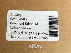 Scott Walker Sundog Deluxe Hand Signed Leather Edition Ltd 100 New & Sealed