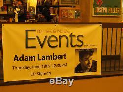 Signed Adam Lambert In Personthe Original High Deluxe Edition CD Queen Front