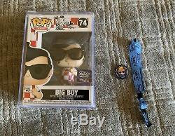 Signed By Brian Mariotti Funko POP! Bobs Big Boy Funko Hollywood Grand Opening