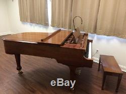Signed Charles R. Walter Grand Piano