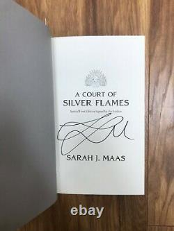 Signed Goldsboro edition of Court of Silver Flames deluxe